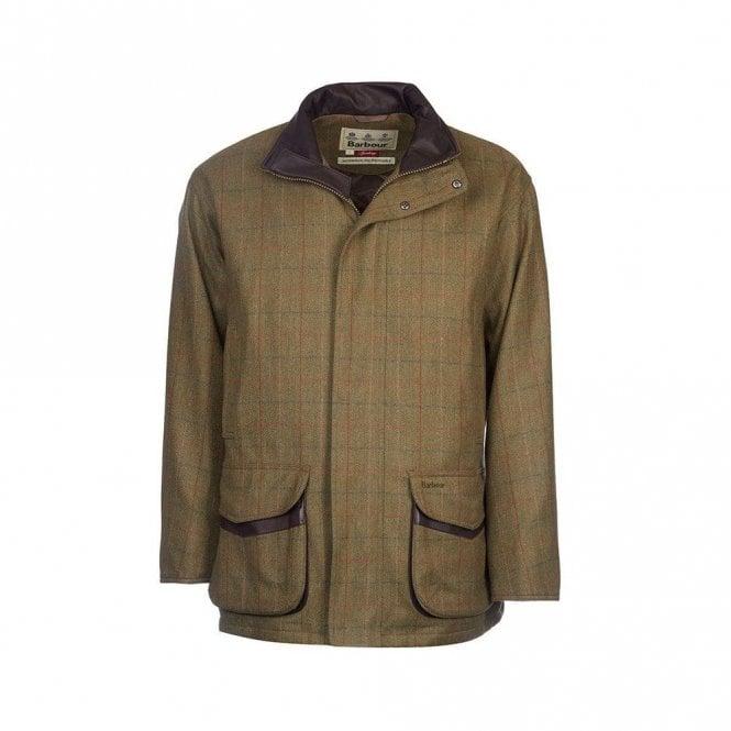 Barbour Moorhen Wool Jacket Olive/brown Check