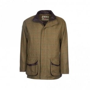 Moorhen Wool Jacket Olive/brown Check