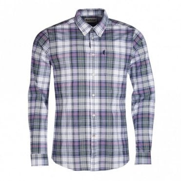 Oxford Check 2 Tailored Fit Shirt - Pink