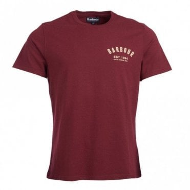 Barbour Preppy T-Shirt - Ruby Red