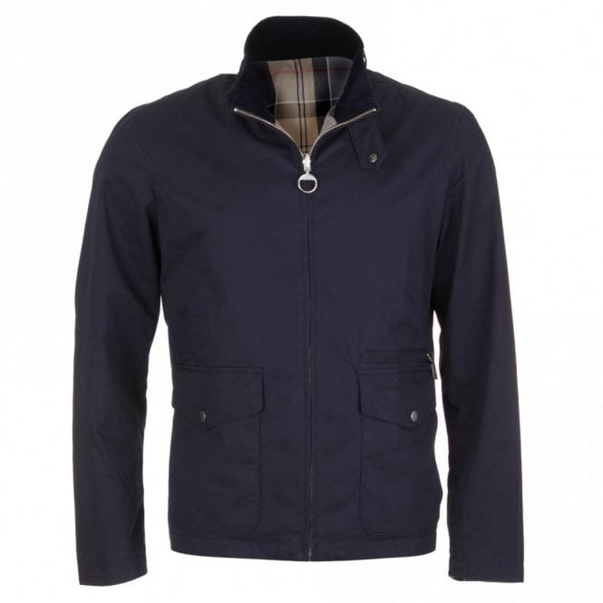 Barbour Reversible Nixon Jacket - Navy