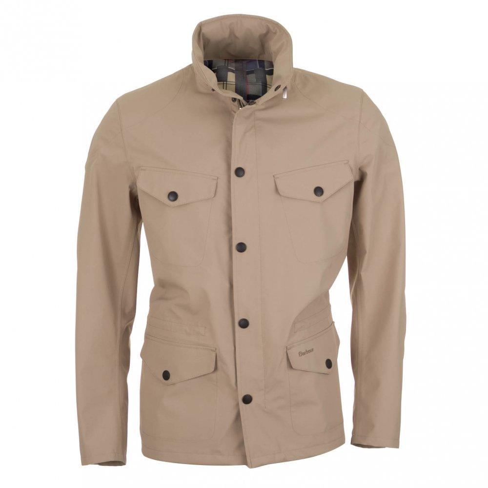 Barbour Sandland Waterproof Jacket Beige Free Shipping