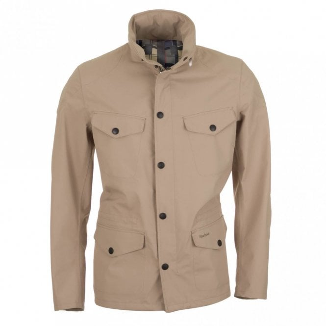 Barbour Sandland Waterproof Jacket - Beige