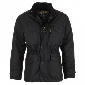 Sapper Waxed Jacket - Black