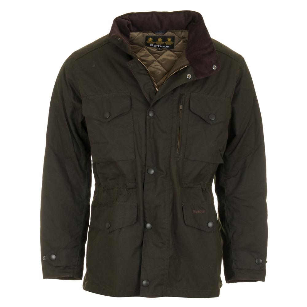 barbour sapper waxed jacket olive green. Black Bedroom Furniture Sets. Home Design Ideas