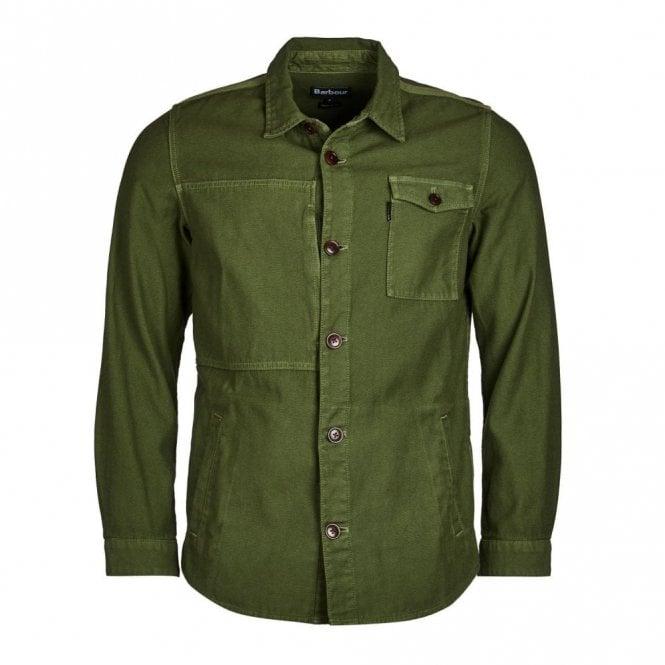 Barbour Seaton Overshirt - Burnt Olive