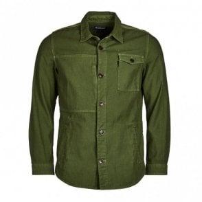 Seaton Overshirt - Burnt Olive