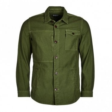Seaton Overshirt - Burnt Olive