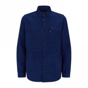 Seaton Overshirt - Inky Blue