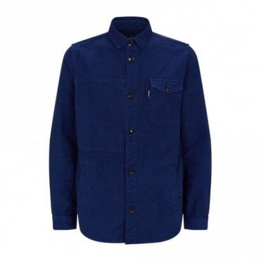 Seaton Overshirt - Inky Blue