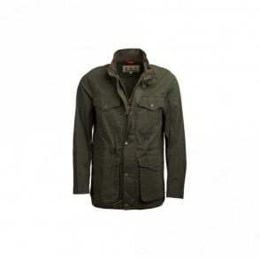 Barbour Skipton Casual Jacket - Olive