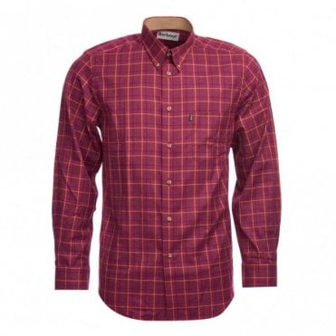 Sp Tattersall Check Shirt Ruby - Red Check