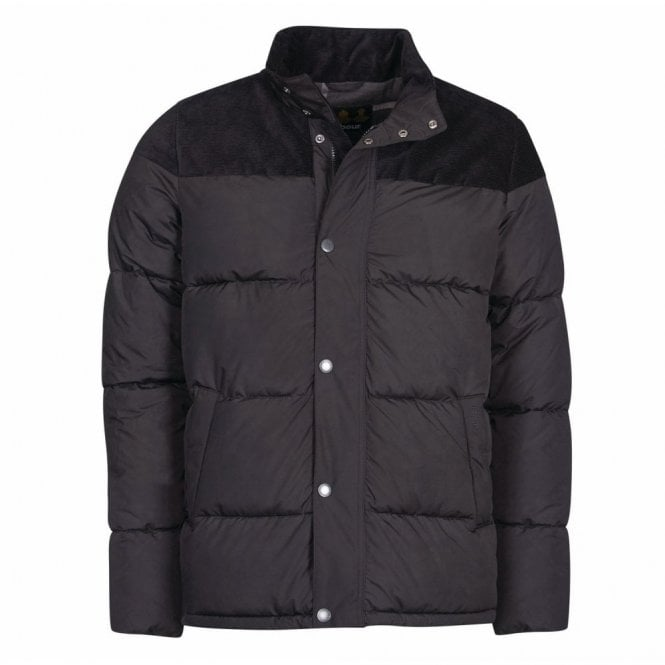 Barbour Spean Quilt Jacket Black