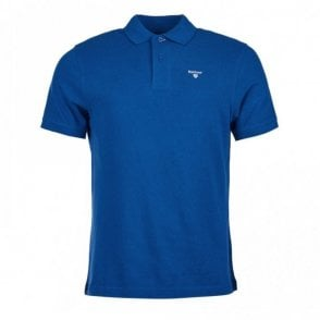 Sports Polo Shirt - Atlantic Blue