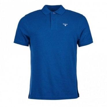 Sports Polo Shirt - Atlantic Blue