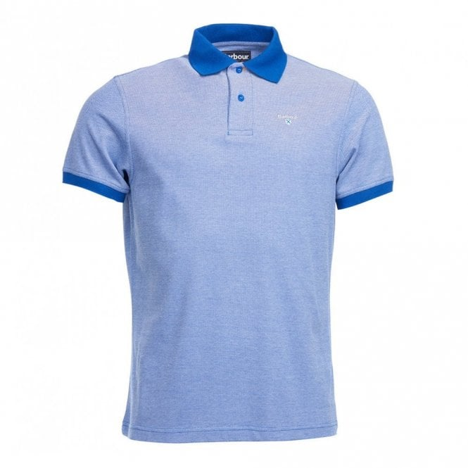 Barbour Sports Polo Shirt - Electric Blue