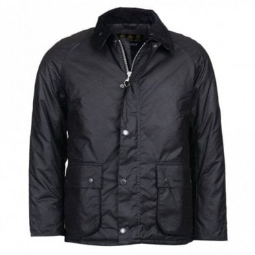 Strathyre Wax Jacket - Black