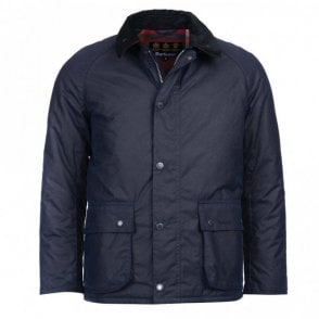 Strathyre Wax Jacket Royal Navy - Navy