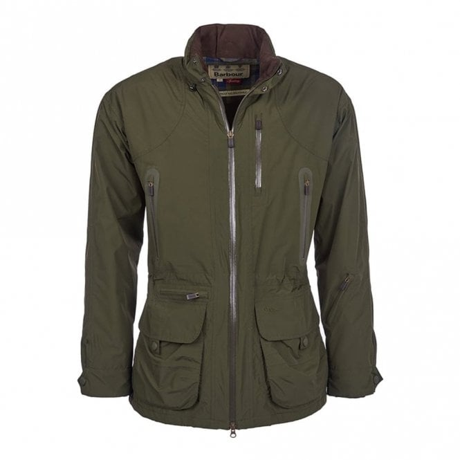 Barbour Swainby Jacket Olive Green - Green