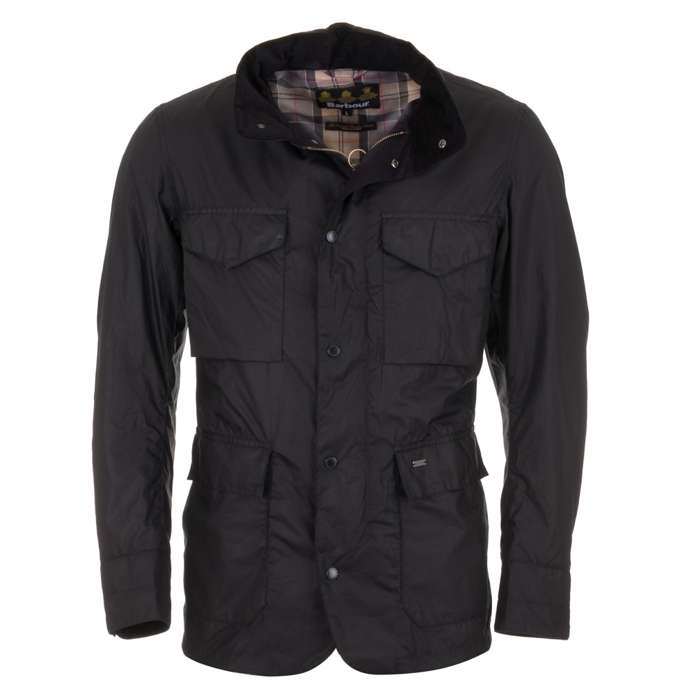 Barbour Sapper Jacket >> Barbour Tailored Sapper Jacket Navy Free Shipping