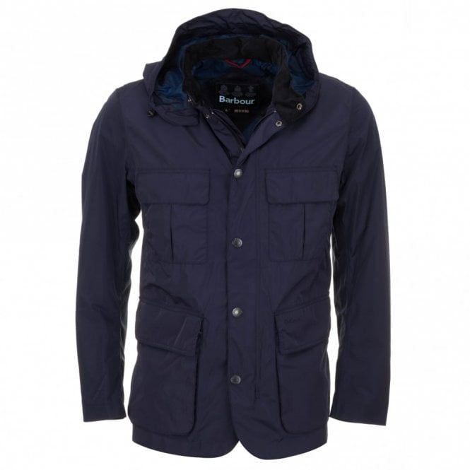 Barbour Thurso Waterproof Jacket - Blue