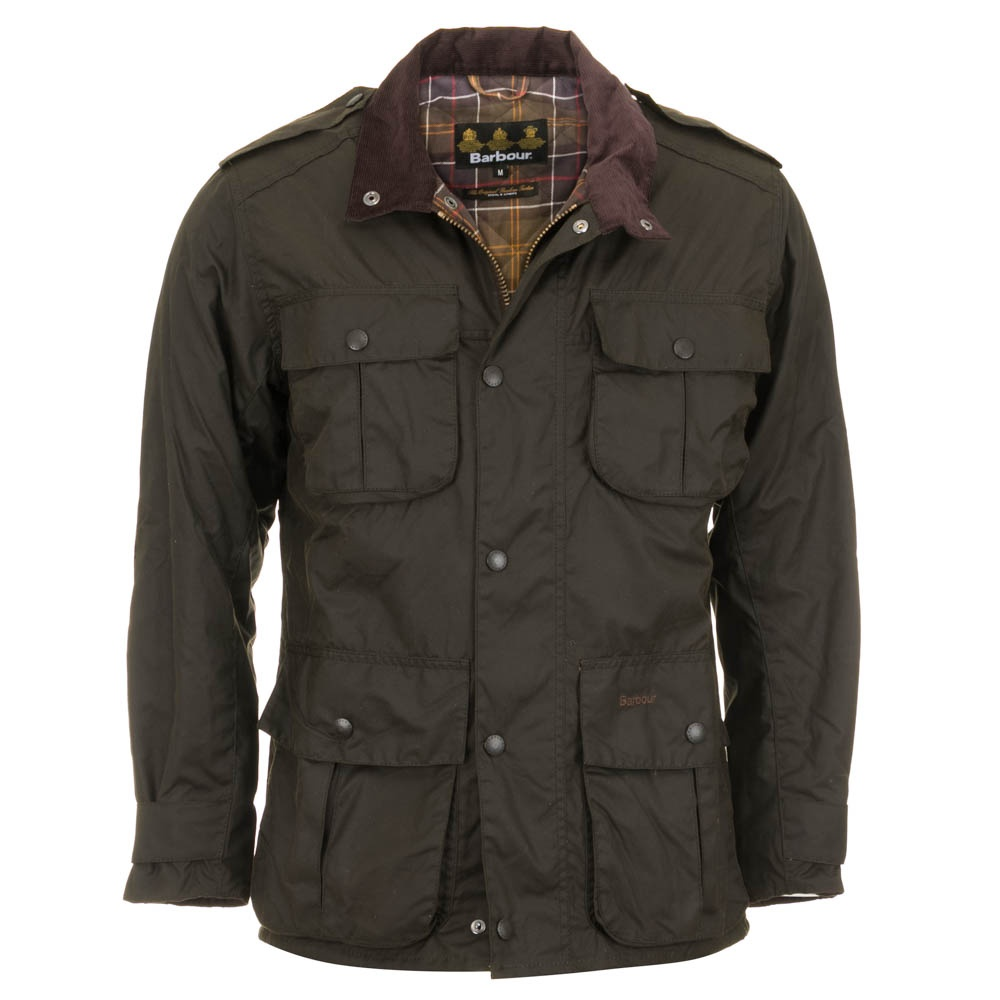 Barbour Trooper Wax Jacket Green Free Shipping