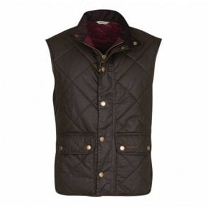 Wax Lowerdale Gilet Olive Green
