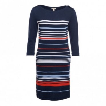 Whitby women's Dress - Navy