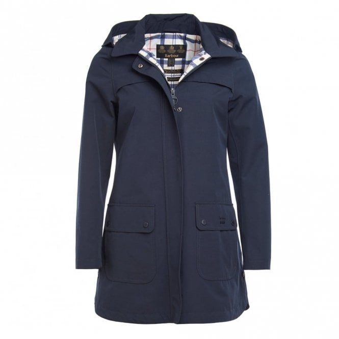Barbour Woman's Almanac Jacket - Navy
