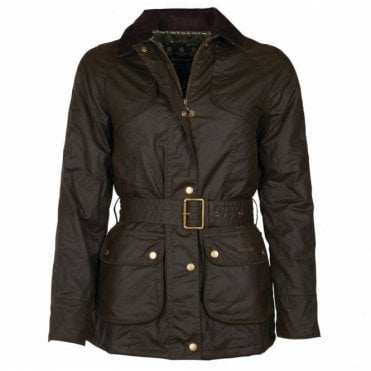 Women's Ambleside Wax Jacket Olive - Green