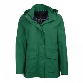 Women's Backshore Waterproof Breathable Jacket - Clover Green