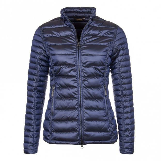 Barbour Women's Clyde Short Baffle Quilt - Royal Navy