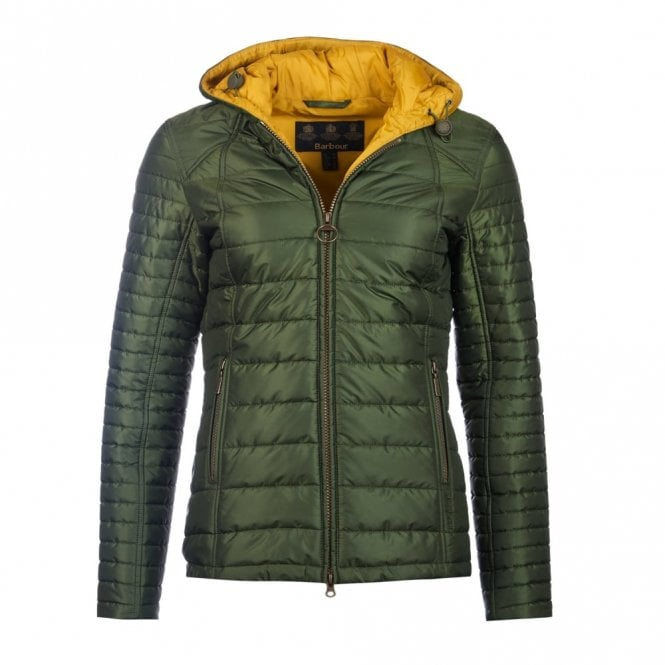 Barbour Women's Cragside Quilt Jacket - Green