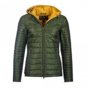 Women's Cragside Quilt Jacket - Green
