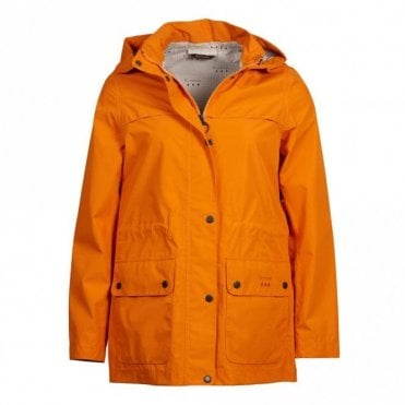 Women's Drizzel Waterproof Breathable Jacket - Marigold Orange