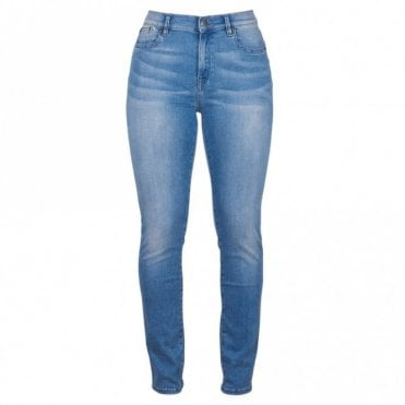 Women's Essential Slim Jean - Worn Blue