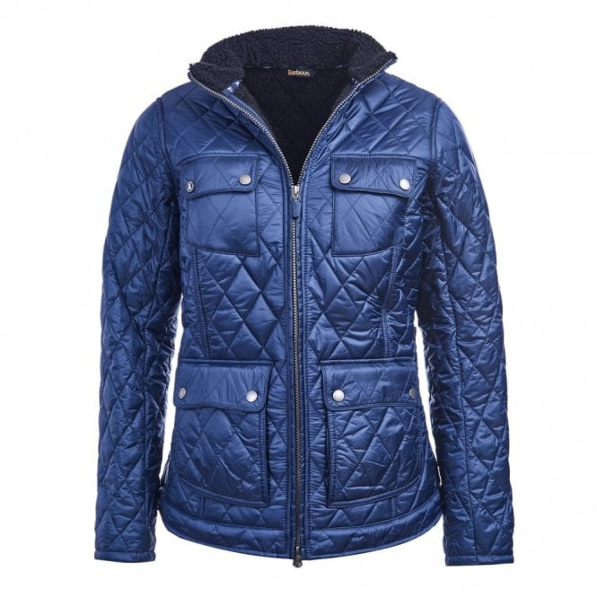 Barbour Women's Filey Quilt Jacket - Navy
