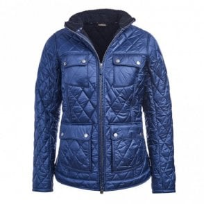 Women's Filey Quilt Jacket - Navy