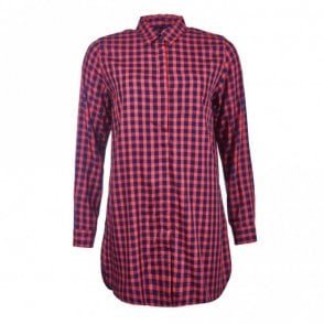Women's Freestone Tunic - Red Check