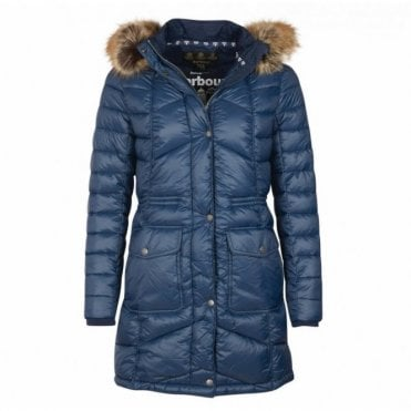 Women's Hamble Quilt Jacket Navy - Navy