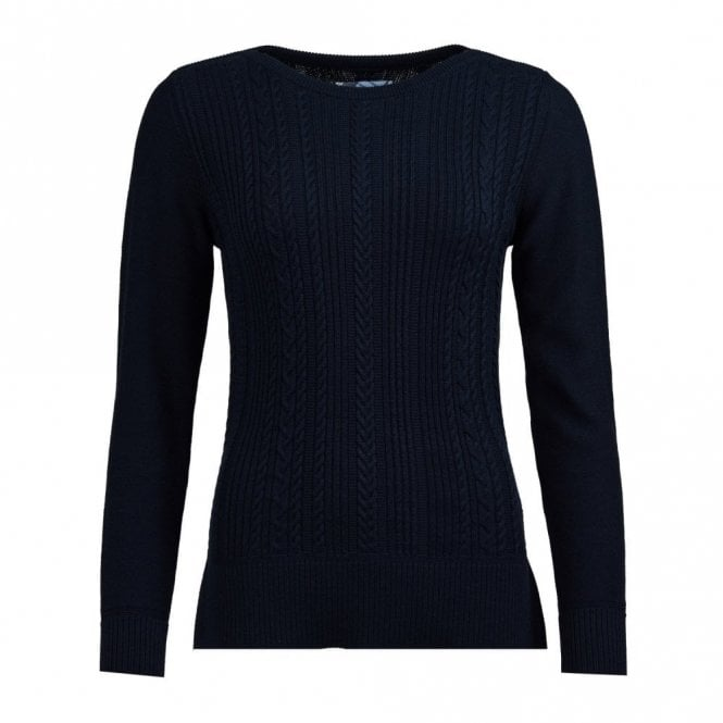 Barbour Women's Hampton sweater - Navy