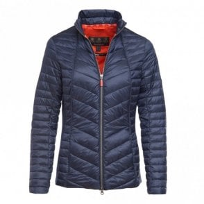 Women's Lighthouse Quilt jacket - Navy