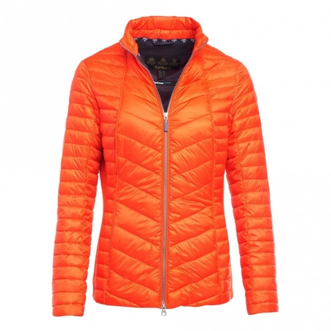 Barbour Women's Lighthouse Quilt jacket - Orange
