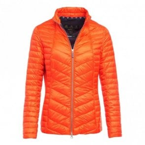Women's Lighthouse Quilt jacket - Orange