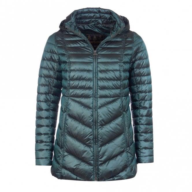 Barbour Women's Linton Quilt Jacket - Green