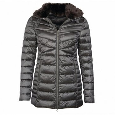 Women's Lomond Quilt Jacket Ash Grey - Grey