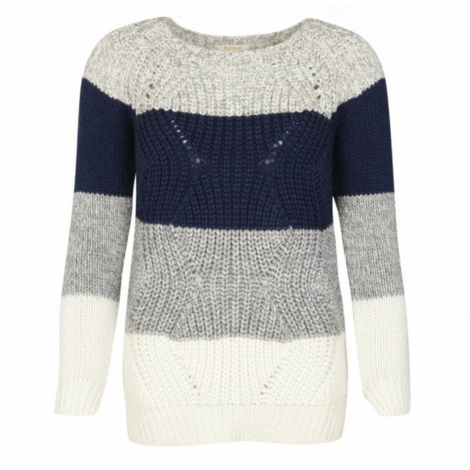 Barbour Women's Padstow Knit Navy - Navy