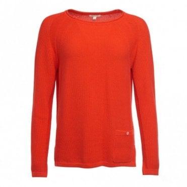 Women's Pembrey Knit Signal Orange - Orange