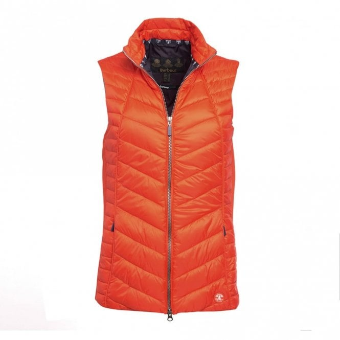 Barbour Women's Penhale Gilet - Orange