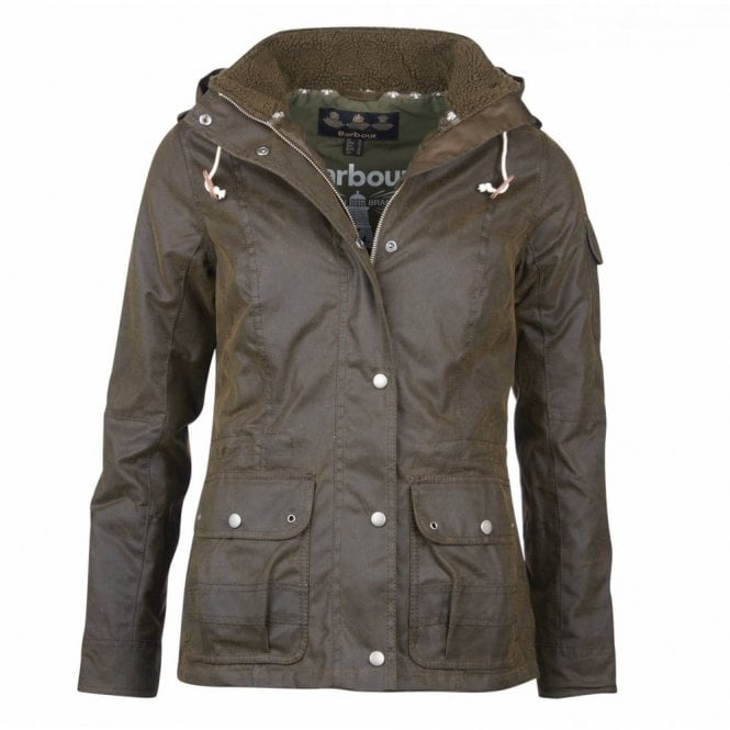 Barbour Women's Redcliffe Wax Jacket - Green